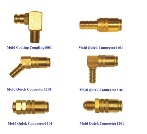 Mold coupling
